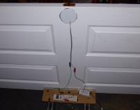 Testing in door