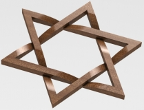 Solidworks Knotted Star of David
