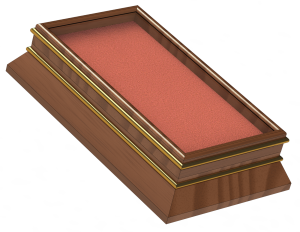Card Display Case 300x232 - 3D Models Adam Sutton